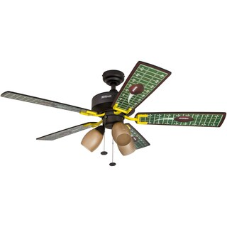 "48"" Honeywell Touchdown Matte Black Ceiling Fan"