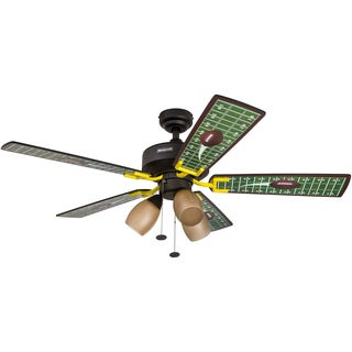 "48"" Honeywell Touchdown Matte Black Ceiling Fan"