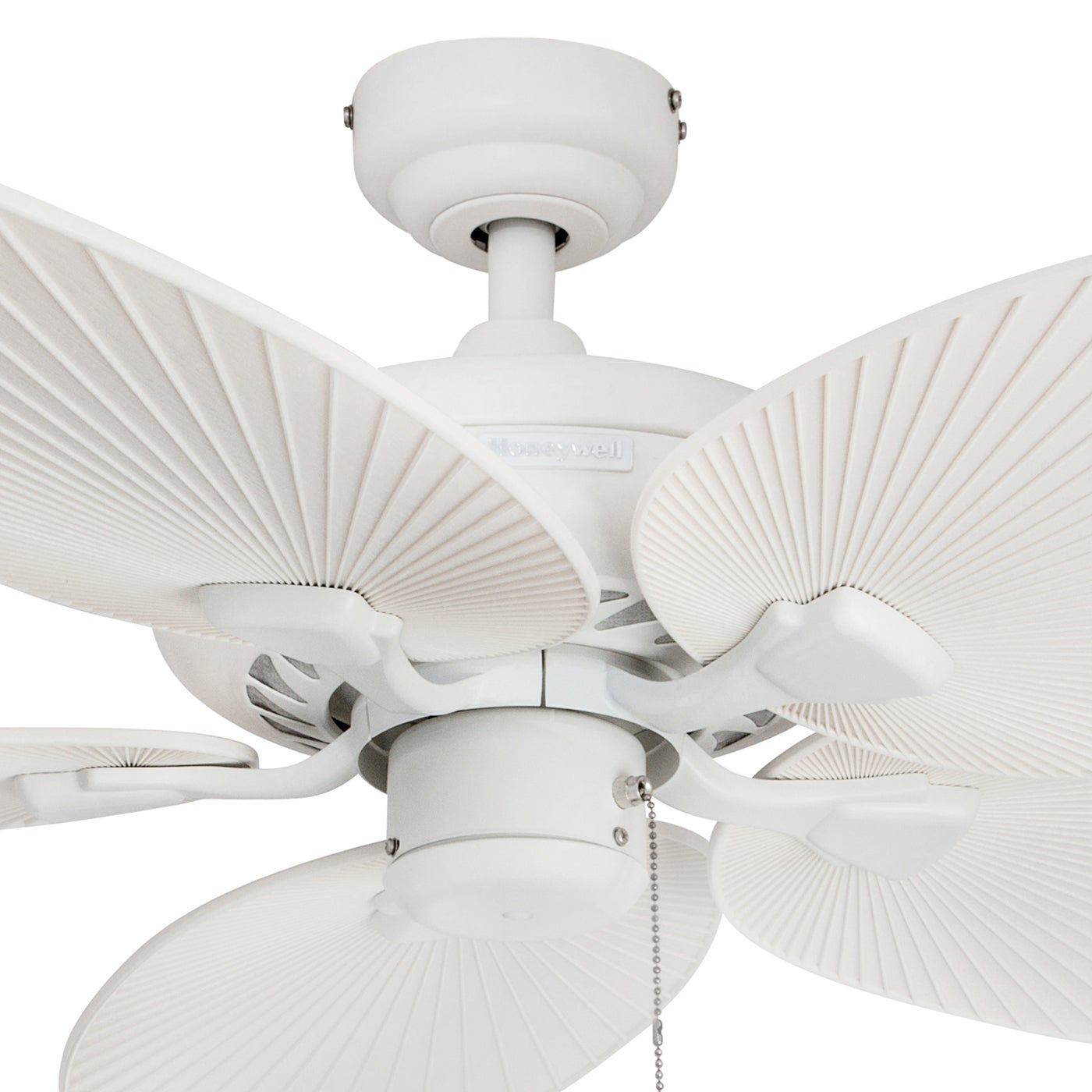 Shop Black Friday Deals On Honeywell Ceiling Fans 50200 Palm Island Tropical Indoor Outdoor Ceiling Fan White 52 Inch Overstock 16000060