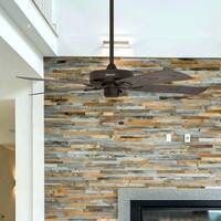 """52"""" Honeywell Belmar Bronze Outdoor Ceiling Fan"""