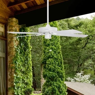 "52"" Honeywell Belmar White Outdoor Ceiling Fan"