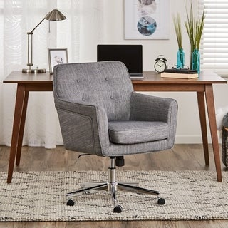 Serta Ashland Home Office Chair, Winter River Gray