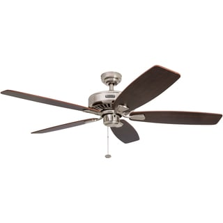 "52"" Honeywell Sutton Brushed Nickel Ceiling Fan"