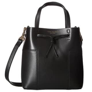 Tory Burch Block-T Micro Black/Black Drawstring Crossbody Bag|https://ak1.ostkcdn.com/images/products/16000086/P22394027.jpg?impolicy=medium