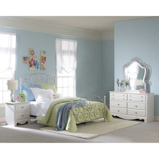 Mini Suite 3 Piece Twin Size Youth Bedroom Set Free