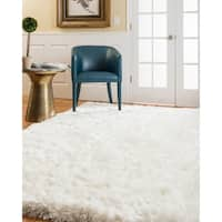 Natural Area Rugs Grandeur Shag Polyester Rug Plus (8' x 10')