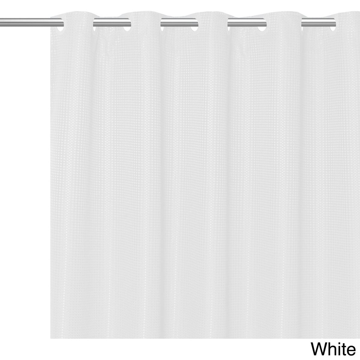 Buy White Shower Curtains Online At Overstock
