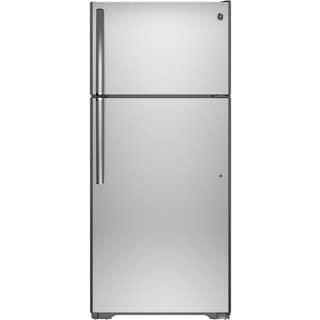 "GTS16GSHSS 28"" Wide 15.5 cu. ft. Top Freezer Refrigerator"