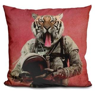 Space tiger Throw Pillow