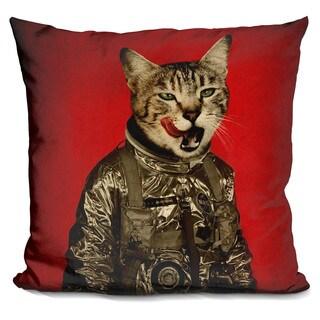 Space tastes good Throw Pillow