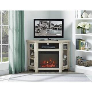 "48"" Corner Fireplace TV Stand Console - 48 x 20 x 32h"
