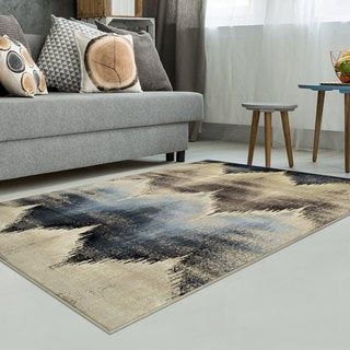 "Superior Designer Cadwell Area Rug Collection (8"" X 10')"