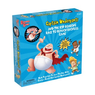Captain Underpants and the Rip-Roaring Race to Remain Rainless Game