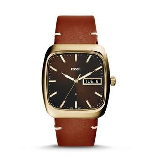 Fossil Men's FS5332 'Rutherford' Brown Leather Watch