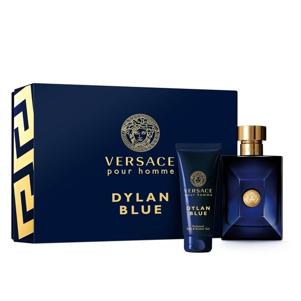 Shop Versace Dylan Blue Pour Homme 2 Piece Set Free Shipping Today