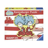 Dr. Seuss Thing 1 & 2 Giant Shaped Floor Puzzle: 24 Pcs