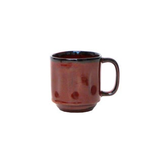 Tuxton Home Artisan Mug Reactive Glaze 12 oz. - Set of 4