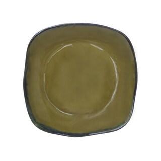 Tuxton Home Artisan 11-inch Square Reactive-glaze Dinner Plate (Set of 4) (Option: Mojave)