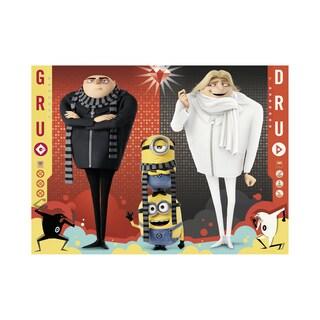 Despicable Me 3 - Gru, Dru and the Minions: 100 Pcs - Black/White