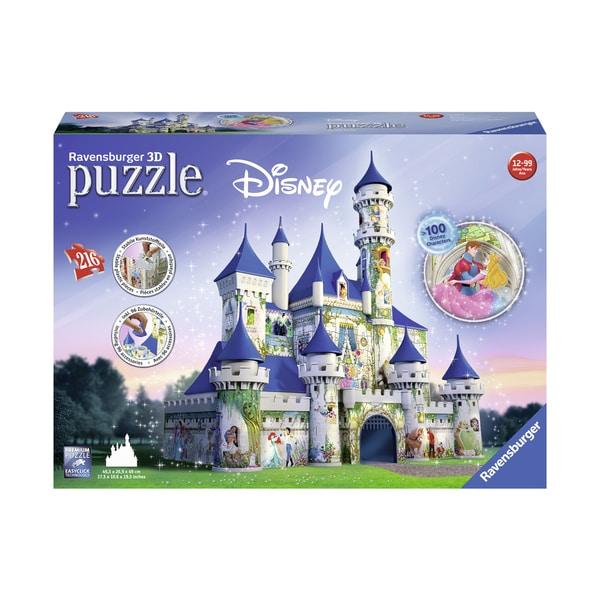 Disney Castle 3D Puzzle: 216 Pcs