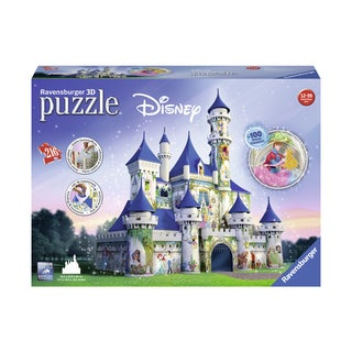 Disney Castle 3D Puzzle: 216 Pcs