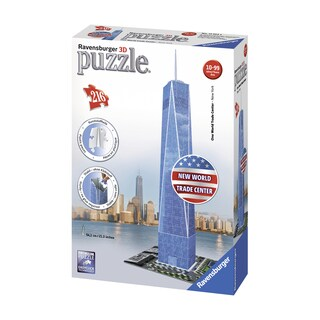 One World Trade Center, New York 3D Puzzle: 216 Pcs