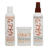 Naked Essations 3-piece Hair Care Set