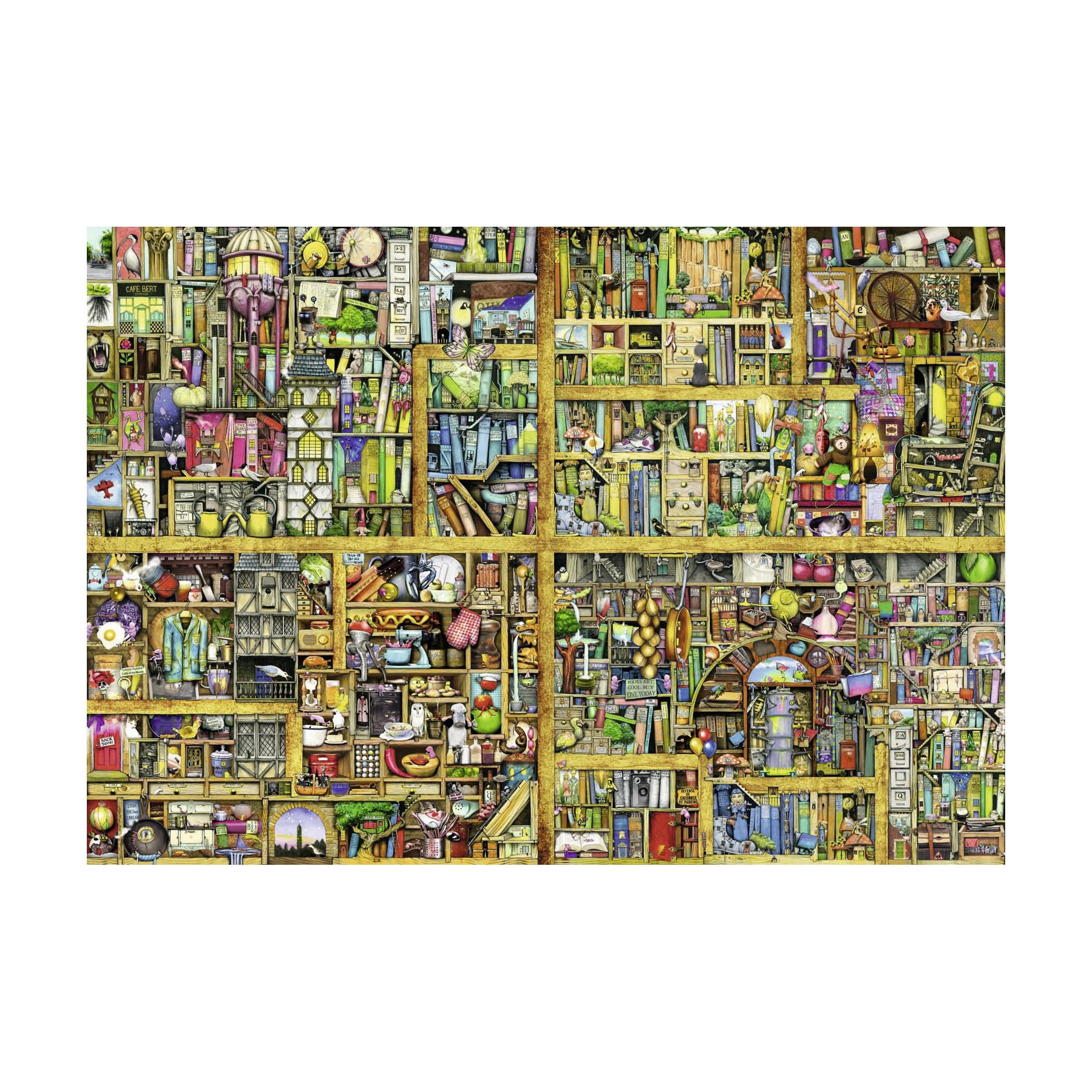 Ravensburger Puzzle 18000 Elements Magic bookcase new