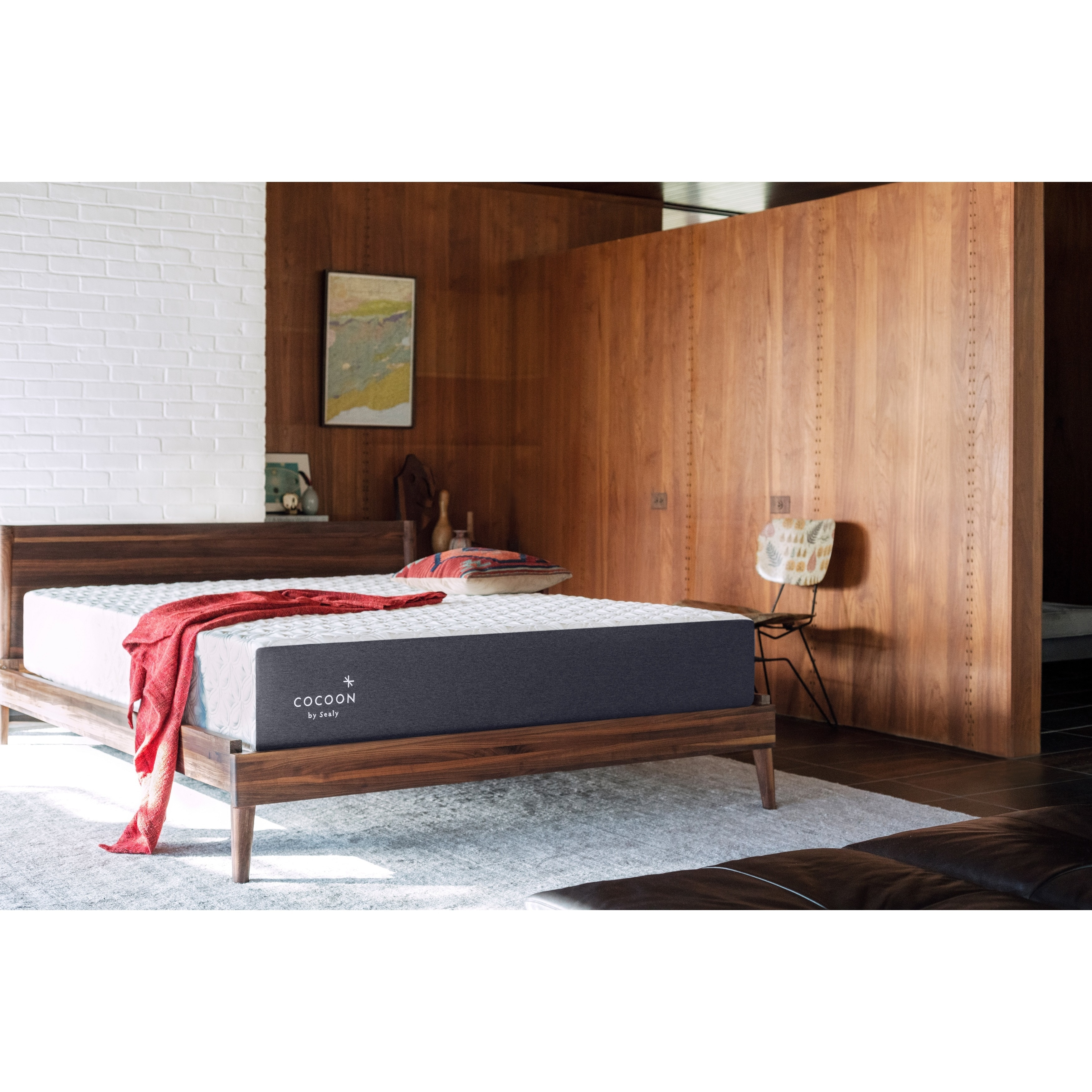 Sealy Cocoon Classic King-size Memory Foam Mattress (Firm...