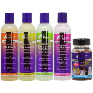 The Mane Choice Kids Hair Care 4-piece Collection & Gummy Vitamins