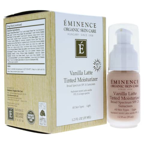 Eminence 1.2-ounce Vanilla Latte Tinted Moisturizer SPF 25 Light - N/A