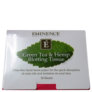 Eminence Green Tea & Hemp Blotting Tissue (Pack of 30)