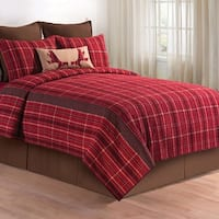 Collin Red Quilt