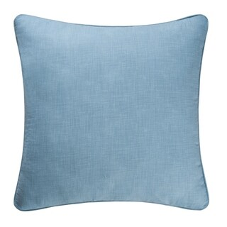 Aegean Grid Cotton Euro Sham