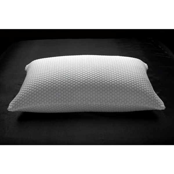 Cool N' Comfort Cooling Pillow - White