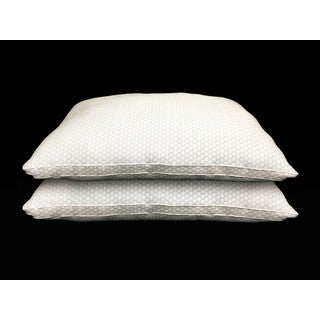 Cool N' Comfort Cooling Gusseted Pillow (Set of 2)