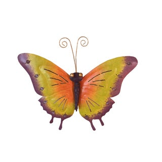 Handmade Iron Butterfly Wall Decor Medium (Indonesia)