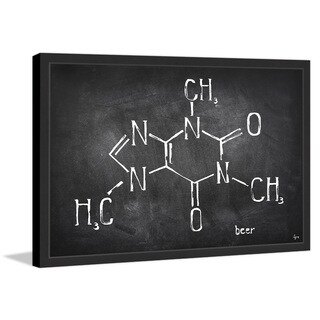 'Chemical Beer' Framed Painting Print (More options available)