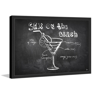 'Drink Patented II' Framed Painting Print