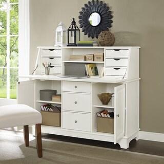 Sullivan Secretary Desk  White