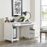 Palmetto White Computer Desk