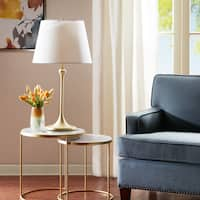 Madison Park Signature Geneva Gold Table Lamp
