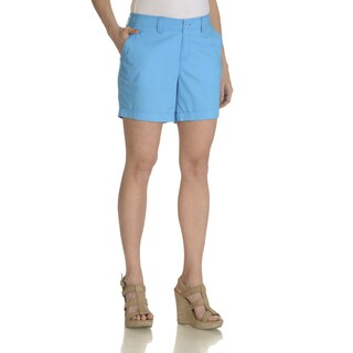 Caribbean Joe Women's Cuffed Hem Short (As Is Item)