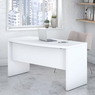 Echo 60W Bow Front Desk from Office by kathy ireland®