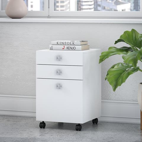 Echo 3 Drawer Mobile File Cabinet from Office by kathy ireland®