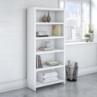 Office by kathy ireland Echo 5 Shelf Bookcase