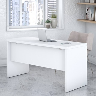 Link to Echo 60W Credenza Desk from Office by kathy ireland® Similar Items in Desks & Computer Tables
