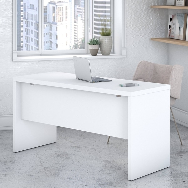 Echo 60W Credenza Desk from Office by kathy ireland®. Opens flyout.
