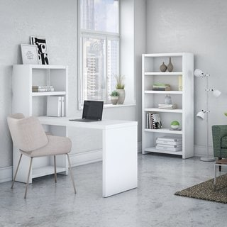 Link to Echo Bookcase Desk with Storage from Office by kathy ireland? Similar Items in Home Office Furniture