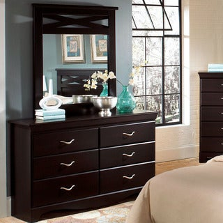 Cambridge Seneca Cherry Wood Dresser